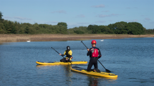 Paddleboarding on the Isle of Wight